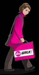 Go Walk - Lady Walking